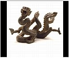 Roaring Chinese Dragon Figurine