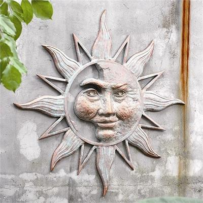 Half Face of the Sun Wall Plaque
