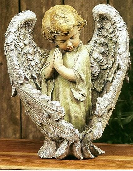 Little Child Angel Figurine