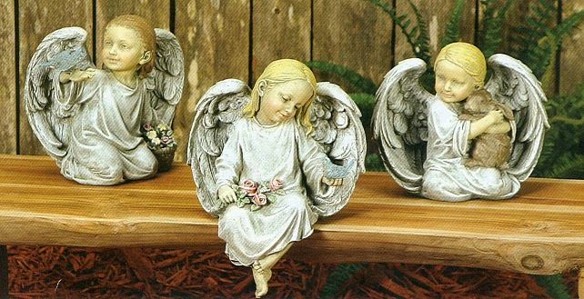Angel Figurines - Set of 3