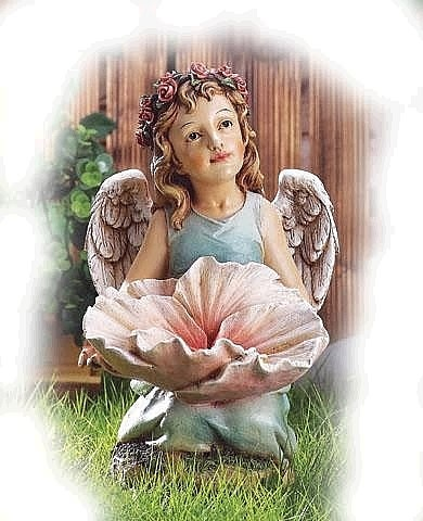 Flower Garden Angel