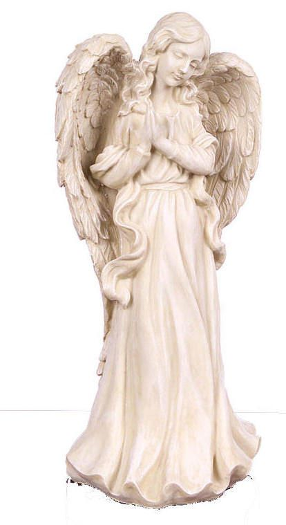 Praying angel with outstretched wings for Praying angel plant