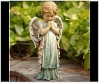 Little Boy Cherub Figurine