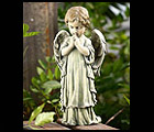 Little Boy Garden Angel