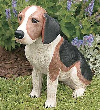 Garden Beagle Statue