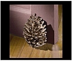 Pinecone Fruit Door Stop