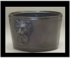 Bronze Lion Head Container