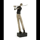 Male Golfer Hole in One figurine