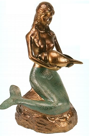 Mermaid Garden Sculpture