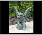 Clyde the Gargoyle Rain Gauge