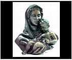 Mary and Baby Jesus Plaque