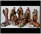 Indoor Nativity Set in Full Color