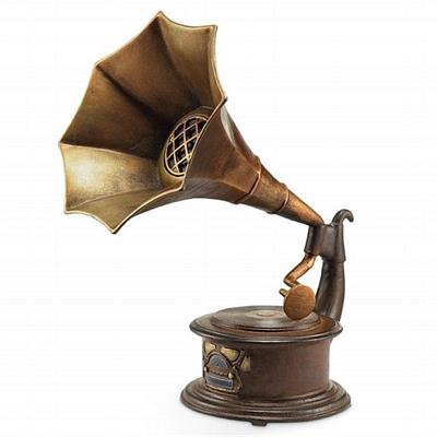 Gramophone with Bluetooth Speaker