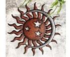 Sun, Moon and Stars Wall Plaque