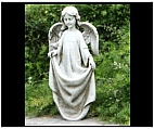 Holy Angel Bird Feeder Statue
