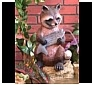 Raccoon Statues, Sculptures and Gifts
