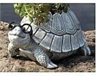 Pair of Turtle Planters