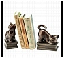 Kitten and Cat Bookends