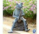 Frog Saxophone Player - Bluetooth Speaker