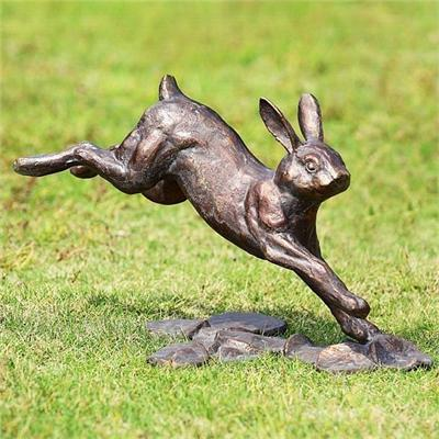 Watchful Bunny Statue