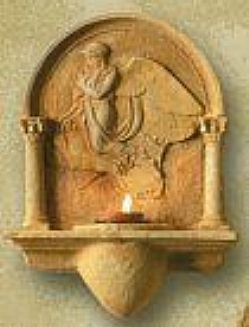 Guardian Angel with Child Votive Holder
