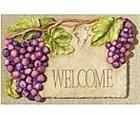 Grape Welcome Sign and Plaque